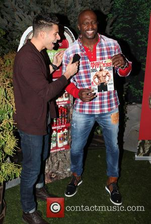 Terry Crews - Old Spice Fresher Collection Launch at Vanderbilt Hall at Grand Central Terminal - Arrivals - New York...