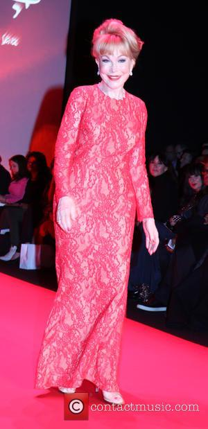 4288e13ef4db Mercedes-Benz Fashion Week Fall 2015 - Go Red For Women Red Dress Collection  - Runway · Barbara Eden