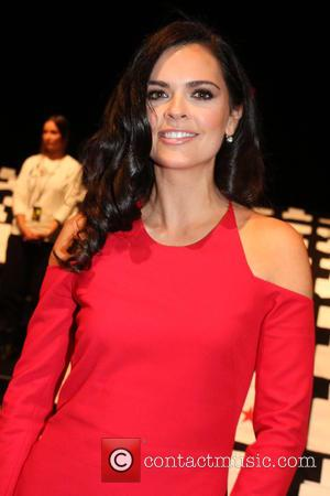 Katie Lee Joel - Mercedes-Benz Fashion Week Fall 2015 - Go Red For Women Red Dress Collection - Runway and...