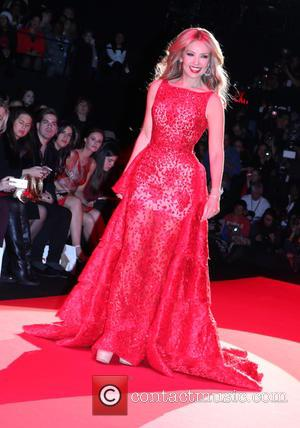 Thalia - Mercedes-Benz Fashion Week Fall 2015 - Go Red For Women Red Dress Collection - Runway and Inside -...