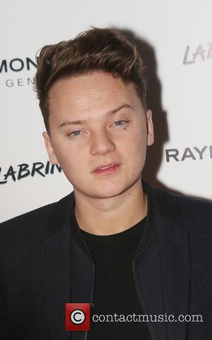 Conor Maynard - Raymond Weil Geneve pre-BRIT Awards dinner at The Chocolate Factory, hosted by Labrinth - Arrivals - London,...