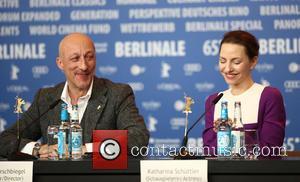 Oliver Hirschbiegel and Katharina Schuttler