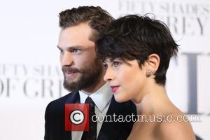 Amelia Warner and Jamie Dornan - 'Fifty Shades of Grey' UK premiere held at the Odeon cinema - Arrivals -...