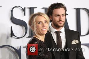 Sam Taylor-Johnson and Aaron Taylor-Johnson - 'Fifty Shades of Grey' UK premiere held at the Odeon cinema - Arrivals -...