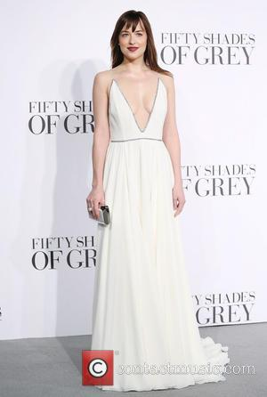Dakota Johnson - 'Fifty Shades of Grey' UK premiere held at the Odeon cinema - Arrivals - London, United Kingdom...
