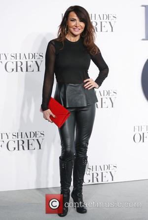 Lizzie Cundy - 'Fifty Shades of Grey' UK premiere held at the Odeon cinema - Arrivals - London, United Kingdom...