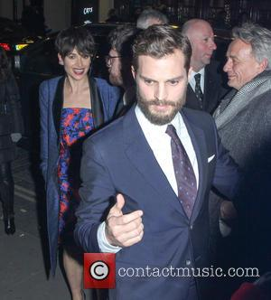 Jamie Dornan - Stars of the new raunchy movie 'Fifty Shades Of Grey' were photographed as they attended an after...