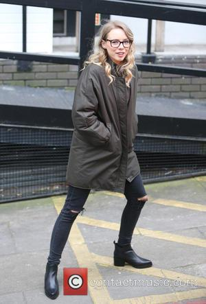 Sacha Parkinson - Sacha Parkinson outside the ITV Studios - London, United Kingdom - Thursday 12th February 2015