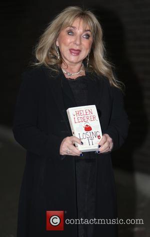 Helen Lederer - Helen Lederer with her new book 'Losing It' outside the ITV Studios - London, United Kingdom -...
