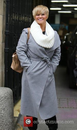 Kerry Katona - Kerry Katona outside the ITV Studios - London, United Kingdom - Thursday 12th February 2015