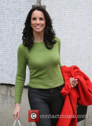 Andrea McLean - Andrea McLean outside ITV Studios - London, United Kingdom - Thursday 12th February 2015