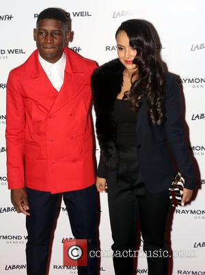 Labrinth and Muz - English singer songwriter and producer Labrinth hosted the Raymond Weil Pre-BRIT Awards dinner which was held...
