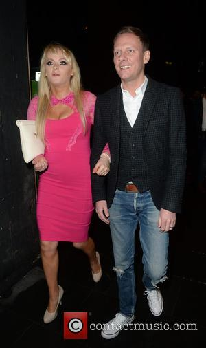 Antony Cotton and Katie McGlynn - Katie McGlynn and Antony Cotton arrive arm-in-arm at Neighbourhood restaurant in Manchester - Manchester,...