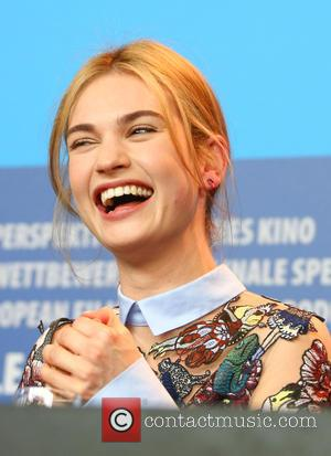Lily James - A host of stars were photographed as they attended a press conference at the 65th Berlin International...