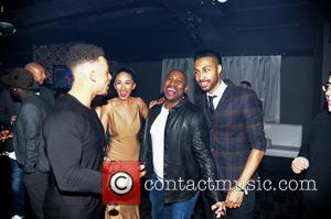 Valentino, Talitha Minnis and Dj Colin Francis