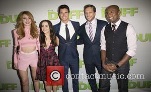 Bella Thorne, Mae Whitman, Robbie Amell, Ari Sandel and Romany Malco - Celebrities attend  Los Angeles fan screening of...