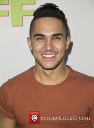 Carlos Pena Jr. - Celebrities attend  Los Angeles fan screening of THE DUFF at TCL Chinese 6 Theatres. at...