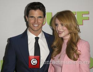Robbie Amell and Bella Thorne - Celebrities attend  Los Angeles fan screening of THE DUFF at TCL Chinese 6...