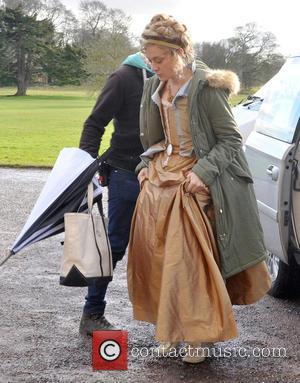 Chloe Sevigny - Cast arrive on set for the filming of 'Love and Friendship' in Dublin - Dublin, Ireland -...