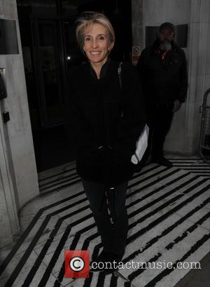 Sam Taylor-Johnson - Sam Taylor-Johnson seen leaving radio two studios in London - London, United Kingdom - Friday 13th February...