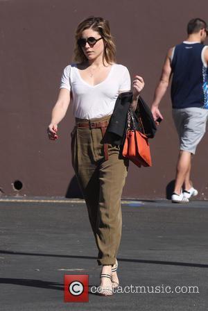Sophia Bush - Sophia Bush visits a pharmacy in Los Angeles - Los Angeles, California, United States - Friday 13th...