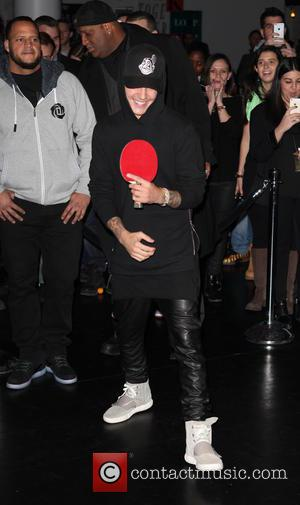 Justin Bieber - The FADER All-Star Ping Pong Tournament at SPiN - New York City, New York, United States -...