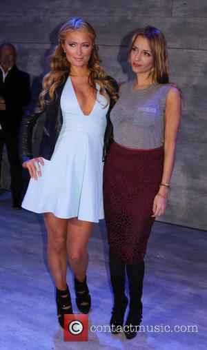 Paris Hilton and Charlotte Ronson - Mercedes-Benz Fashion Week Fall 2015 - Charlotte Ronson - Backstage - New York, New...