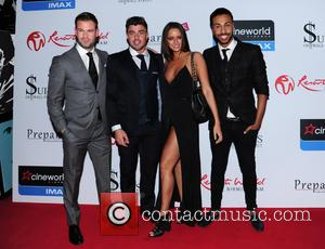 Yasmin, Dean Spragg, Rogan O'connor and Valentino