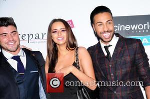 Rogan O'Connor, Yasmin di Christie and Nathanial Valentino - VIP screening of 'Fifty Shades of Grey' held at Cineworld -...