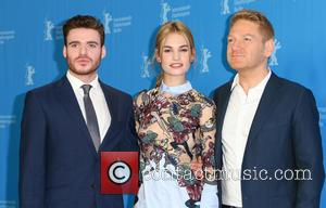 Lily James, Richard Madden and Kenneth Branagh