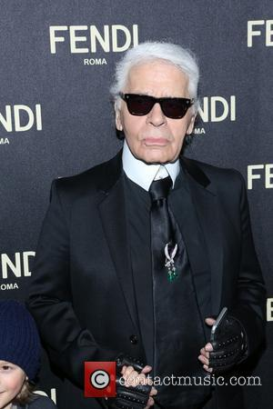 Karl Lagerfeld - FENDI celebrates the opening of the New York flagship store - New York, New York, United States...