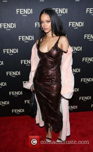 Rihanna - FENDI celebrates the opening of the New York flagship store - New York, New York, United States -...