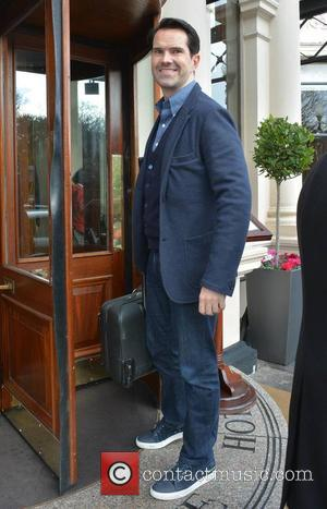 Jimmy Carr - Comedian Jimmy Carr at The Shelbourne Hotel - Dublin, Ireland - Friday 13th February 2015