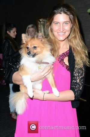 Francesca Hull and And Her Dog Ivie