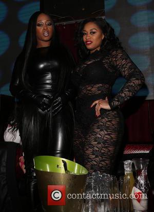 Remy Ma and Rashidah Ali - Floyd Mayweather's birthday bash with Young Jeezy at Liberty Theater - New York, United...