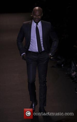 Tyson Beckford - Naomi Campbell Fashion For Relief Runway Show - New York, United States - Saturday 14th February 2015