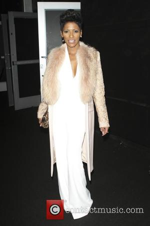 Tamron Hall - Mercedes-Benz Fashion Week New York - Naomi Campbell's Fashion for Relief - Departures - New York City,...