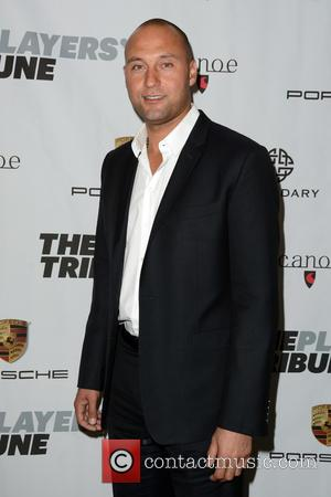 Derek Jeter - The Players' Tribune Launch Party - Arrivals - Manhattan, New York, United States - Saturday 14th February...