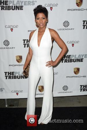 Tamron Hall - The Players' Tribune Launch Party - Arrivals - Manhattan, New York, United States - Saturday 14th February...