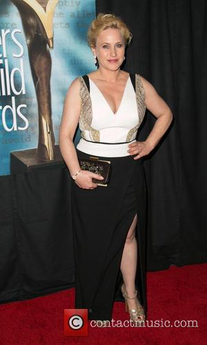 Patricia Arquette - Photographs as stars arrived for the 2015 Writers Guild Awards West Coast ceremony which were held at...