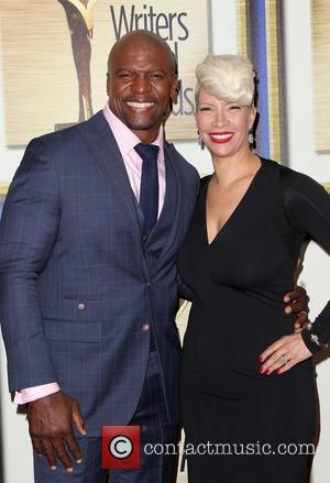 Terry Crews and Rebecca King-Crews - Photographs of a host of stars as they arrived for the 2015 Writers Guild...