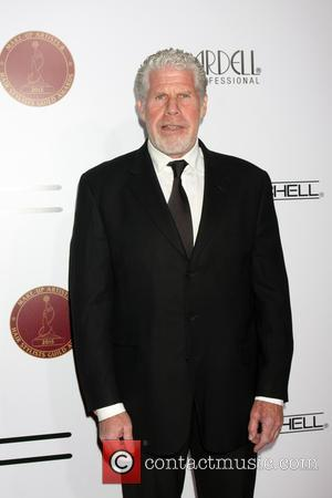 Ron Perlman - Make-Up Artists & Hair Stylists Guild Awards - Arrivals at Paramount Theater, Paramount Studio - Los Angeles,...