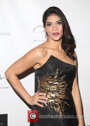 Laura Gomez - Michael DePaulo Fall/Winter 2015 fashion presentation at the Carlton Hotel - New York City, New York, United...