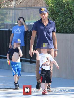 Will Arnett, Archie Arnett and Abel Arnett - Will Arnett takes his boys Archie and Abel, to the Farmers Market...