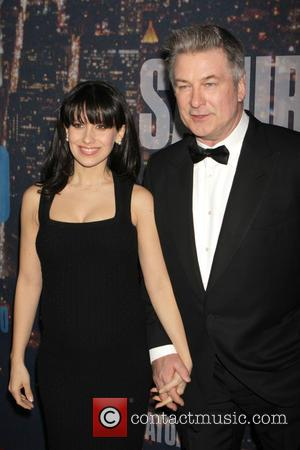 Alec Baldwin and Hillaria Thomas - A host of stars including previous cast members were snapped as they arrived...