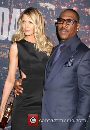 Eddie Murphy and Paige Butcher - A host of stars including previous cast members were snapped as they arrived...