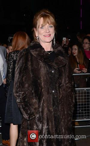 Samantha Bond - Whatsonstage Theatre Awards 2015 at the Prince of Wales Theatre, London at Prince of Wales Theatre -...