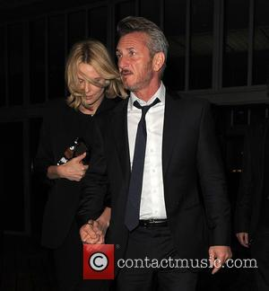 Charlize Theron and Sean Penn - Charlize Theron and Sean Penn seen leaving Royal Festival Hall at Royal Festival Hall...
