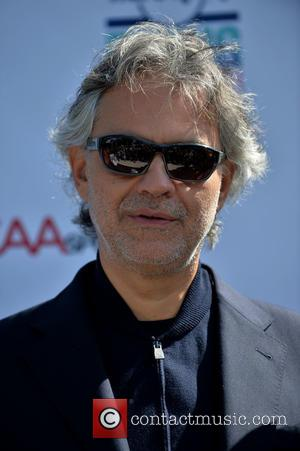 Andrea Bocelli - Miami Beach announces headline performers for Mega Centennial Concert Celebration at New World Center at New World...
