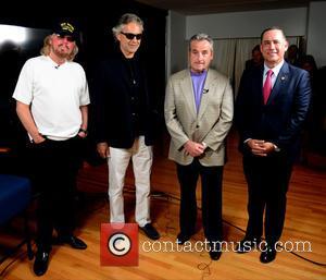 Barry Gibb, Andrea Bocelli, James Allen and Philip Levine - Miami Beach announces headline performers for Mega Centennial Concert Celebration...